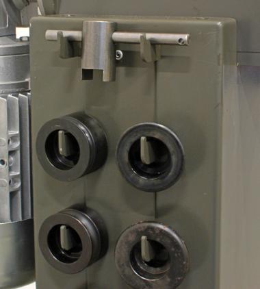 JÖRG 5330-V Swaging Machine detail 2