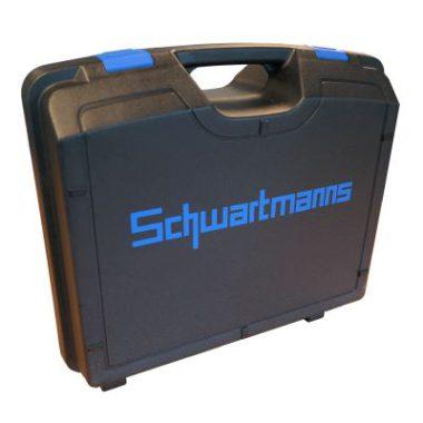 JÖRG Schwartmanns handbediende voormachine SMW50.00 koffer