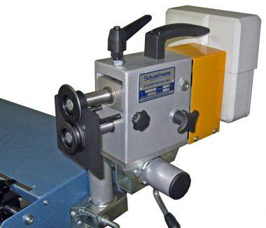 JÖRG Schwartmanns Elektrische voormachine SMW50.20 met ZSV montagebeugel