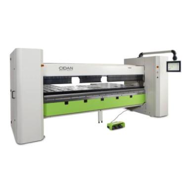CIDAN FORMA Zwenkbuigmachine, Zetbank met CNC besturing