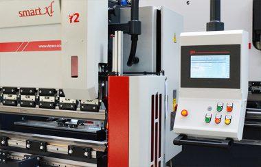 JÖRG Dener Smart XL hydraulische kantpers ESA S 630 besturing