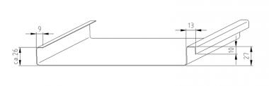 JÖRG Schlebach SPA PAC profileermachine profiel 25 mm detail 1