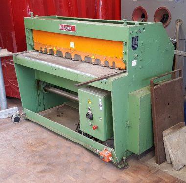 Gebruikteguillotineschaar Jörg 4042 - elektrisch, 1350 x 3 mm