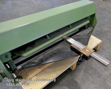 M961 Jorg 4000 Slagschaar 650 x 1,6