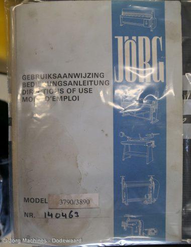 M1005 Hydraulische vingerzetbank Jörg 1300 mm