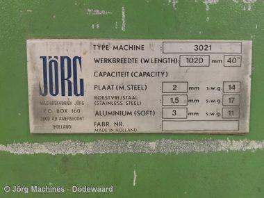 M1061 Vingerzetbank Jörg 3021