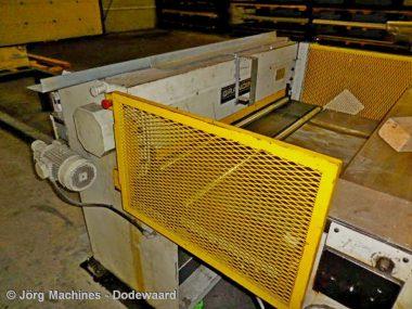 M1064 Slitlijn Grandini 1,5 meter x 2 mm met 5 sets messen en decoiler