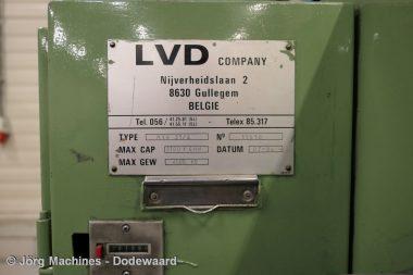 M1070 Guillotineschaar LVD, gebruikt, hydraulisch, 3100 x 4 mm