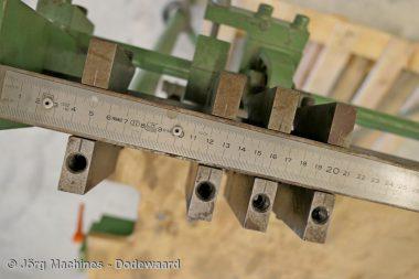 M1057 Aftekentafel voor zinkwerk