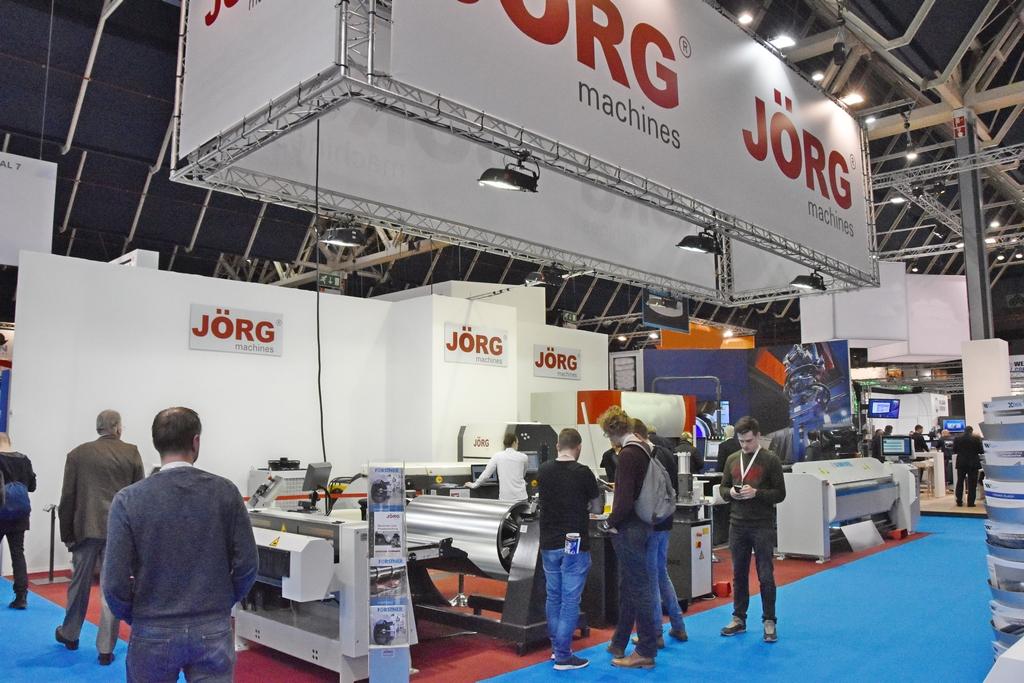 Jörg Machines op Technishow