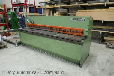 M1117 Guillotineschaar Wila HS 255-3 2500x3 mm P1030488-LR1