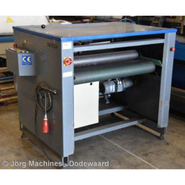 Gebruikte Afwikkelmachine Dietech DM-GS/AFW 1000 – electrisch, 1000 x 1,6 mm voor het knippen van zink, koper, aluminium, staal, RVS, etc