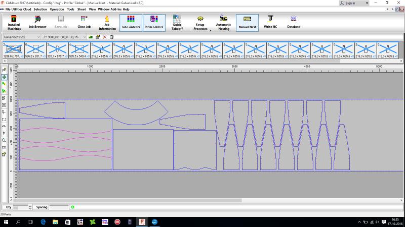 Autodesk Fabrication CAMDuct afbeelding folder 4