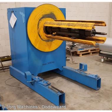 M1205 Decoiler gebruikt - Forstner AG3 - 1500 mm x 3 Ton - 20210106_160224-LR 400x400