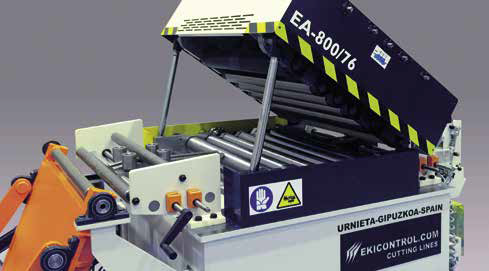 EkiControl Pers aanvoer lijnen EA 800-76 richtunit