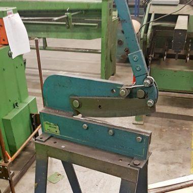 M375 Hefboomplaatschaar 400 x 3 mm - 400x400